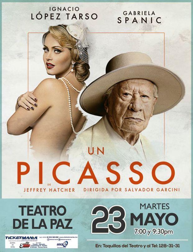 """""""Un Picasso"""" en San Luis Potosí /teatro) @ Teatro de la Paz"""
