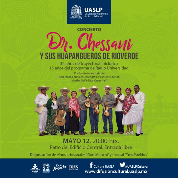 Dr. Chessani y sus Huapangueros de Rioverde @ Patio del Edificio Central de la UASLP | San Luis Potosí | San Luis Potosí | México