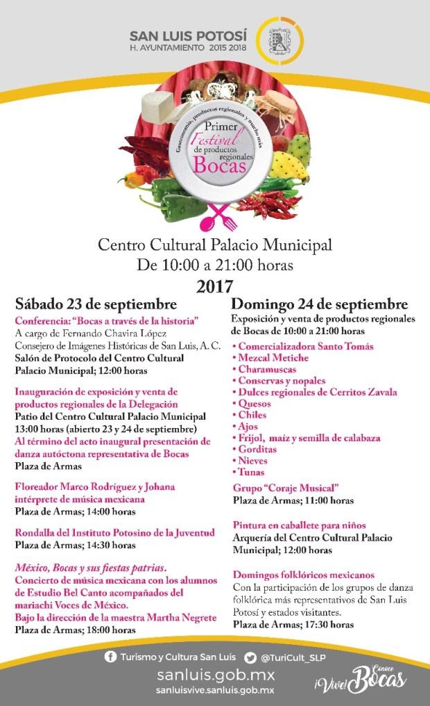Primer Festival de Productos Regionales Bocas @ Delegación de Bocas | Bocas | San Luis Potosí | México
