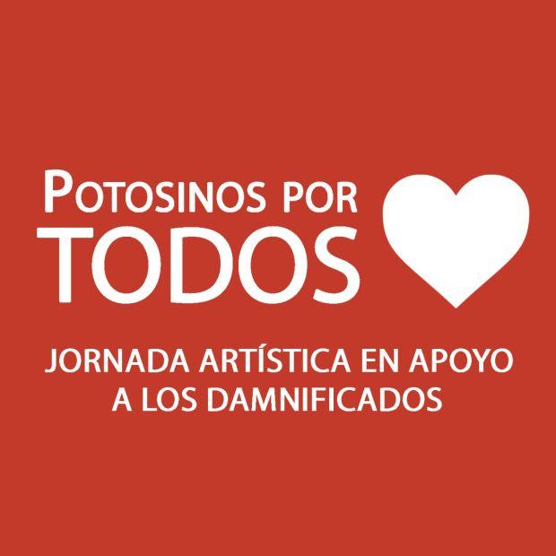 Potosios por todos - jornada artística en apoyo a los damnificados @ Centro de las Artes de San Luis Potosí | San Luis Potosí | San Luis Potosí | México