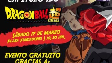 Photo of Transmitirán el capitulo 130 de Dragon Ball Super en Plaza de los Fundadores