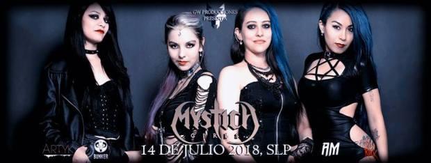 Mystica Girls en San Luis Potosí @ Steel Metal Bunker