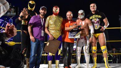 Photo of Lleno total en homenaje a Mil Máscaras en la FENAPO