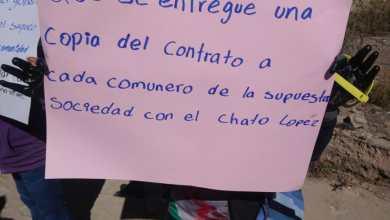 Photo of asamblea comunal rechaza acuerdos que favorecen a empresarios