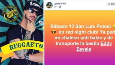 Photo of DJ dice que tocará en SLP con chaleco antibalas