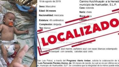 Photo of Localizan al bebé Luis Fernando en Veracruz