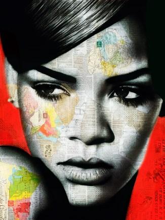 Rihanna by André Monet, www.lumas.com