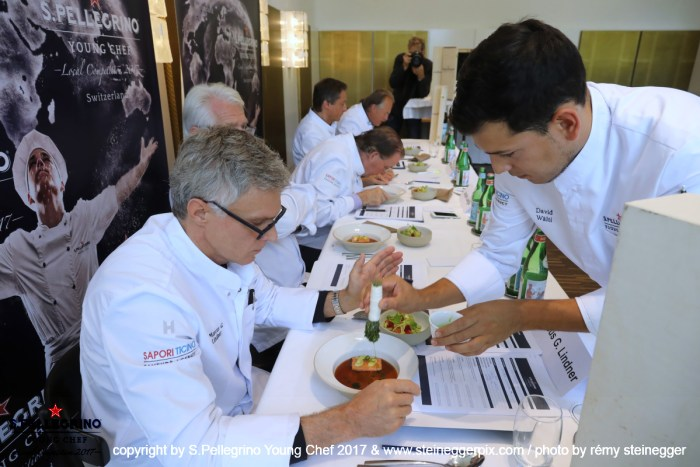 Swiss winner 2017: David Waelti, Sous Chef, 'Eisblume' - Worb, Switzerland