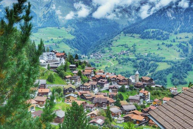 Malerisches Bergdorf Tschiertschen (Foto: Zenz)