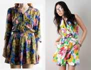 summer dresses vintage floral 90s 2