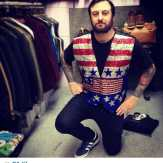 Regram from @scottcantstop seen here testing out a very patriotic vest in our downstairs section! Pic by @xxgmf