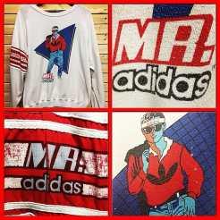 Vintage MR. ADIDAS Sweatshirt! #metropolisnycvintage #metropolisvintage #mrtropolisnyc #adidas #mrsdidas #adidasfans
