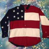 METROPOLIS VINTAGE presents TOMMY HILFIGER WEEK! Tommy Hilfiger american flag shirt! metropolis #metropolisnycvintage #metropolisvintage #tommyhilfigerph #hilfiger #tommyhilfiger #tommyhilfigershirt