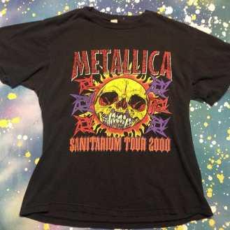 METROPOLIS T-SHIRT MADNESS: METALLICA! #metropolis #metropolisvintage #metropolisnycvintage #metropolistshirts #metropolistshirtmadness #vintagetshirts #tshirts #metallica #kirkhammett #metaltshirts