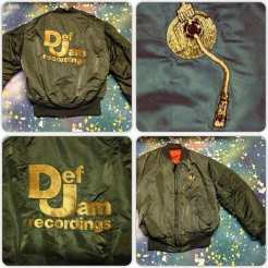 METROPOLIS HIP HOP T-SHIRT WEEK! We're breaking our own rules already by posting this amazing DEF JAM RECORDINGS JACKET we recently turned up! #metropolis #metropolisvintage #metropolisnycvintage #metropolistshirts #metropolistshirtmadness #defjam #defjamrecords #hiphop #rap #defjamrecordings