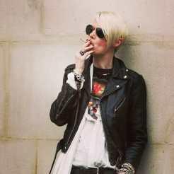 Favorite Customer #katelanphear #fearlanphear #punk #slayer #slayertshirt #vintageslayertshirt #lanphear #elle