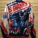 New York Giants Jacket by Chalk Line #newyorkgiants #giants #nyg #gmen #lawrencetaylor #56 #LT #NYGiants #NY