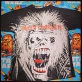 Iron Maden TShirt #ironmaden #ironmadentshirt #metaltshirt #vintage90s #vintagenyc #vintagetshirt #heaveymetal #meaveymetaltshirt #devilhorns #dio