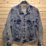 We always have a large selection of acid wash jackets in stock at our store. #acidwash #vintage90s #vintagesweathers #vintagejacket #mcm #gucci #Levi #leviacidwash #vintagelevi #denim #vintagedenim