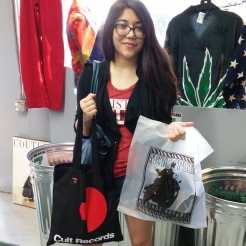 Our first customer of the sale! Only 4 more grab bags left! Hurry and come on by before all of the best stuff goes walking out the door. Remember it's 40% ...... 40% off EVERYTHING in the store with the coupon