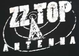 ZZ Top Antenna t shirt back