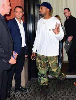 Kanye-West-Carhartt-shirt-Yeezy-shoes-2-1