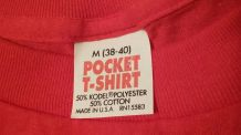 Vintage Pocket Tee Shirts NYC Metropolis