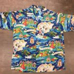 Vintage Hawaiian shirt New York city