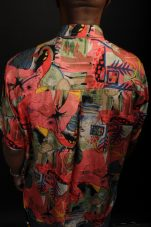 Vintage Silk Shirt Metropolis Vintage NYC