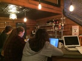 So studious at the bar