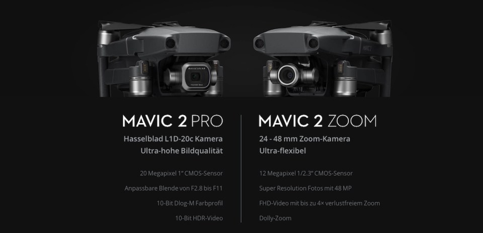 DJI Mavic 2 Pro vs Mavic 2 Zoom Metropolitan Monkey