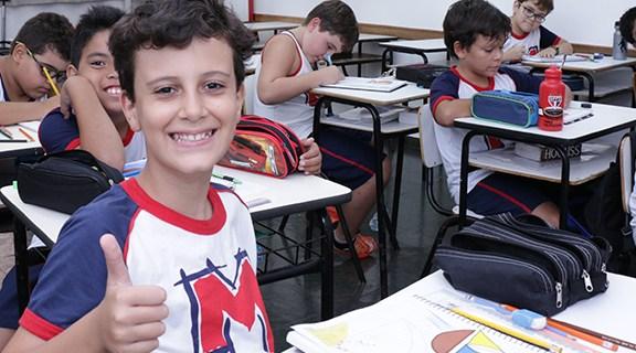 Escola de educação infantil e ensino fundamental