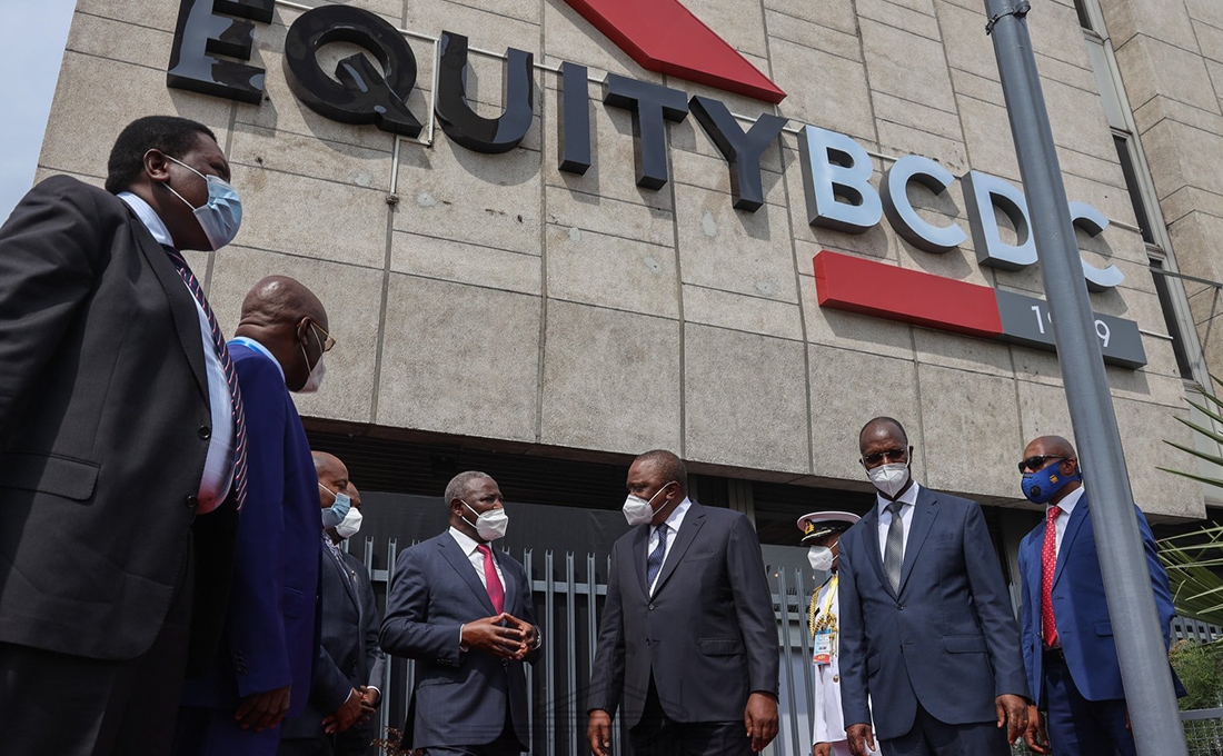 President Kenyatta commends Equity Bank for growing Africa's economic freedom