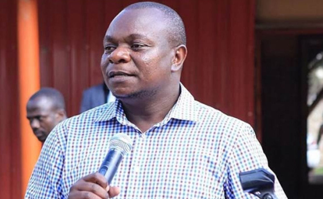 ODM's Philip Etale tests positive for COVID-19 again