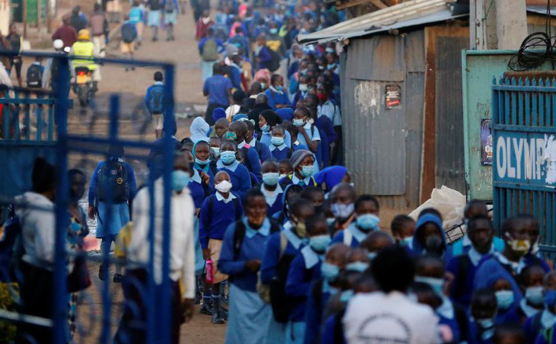 Schools fully reopen amid surging COVID-19 numbers