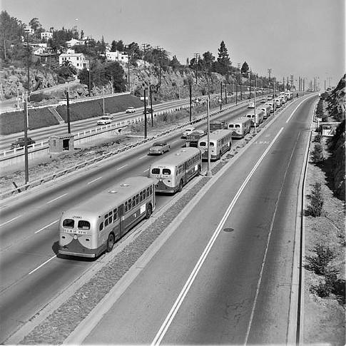Cahuenga Pass buses