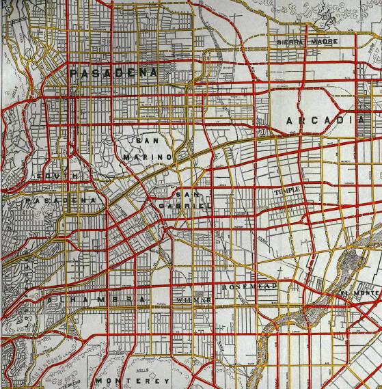 San Gabriel Valley Highway Plan