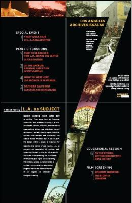 LA as Subject Archives Bazaar poster