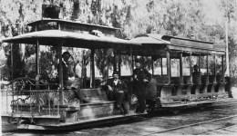Streetcar on Broadway, late 1880s