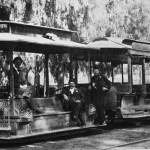 Streetcar on Broadway, late 1880s