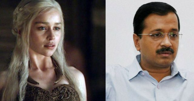 Indian Politicians as GOT characters