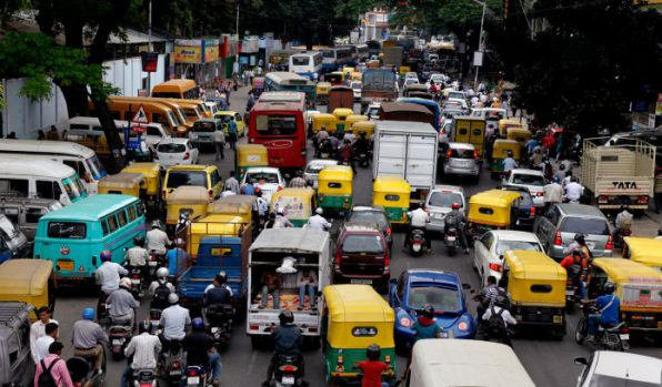 Bengalurians took traffic problems to twitter