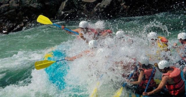 river rafting karnataka
