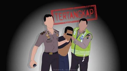 Di Banyuwangi Polisi Tangkap Buronan Narkoba Kelas Kakap