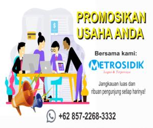 Pasang Iklan Banner di Metrosidik.co.id