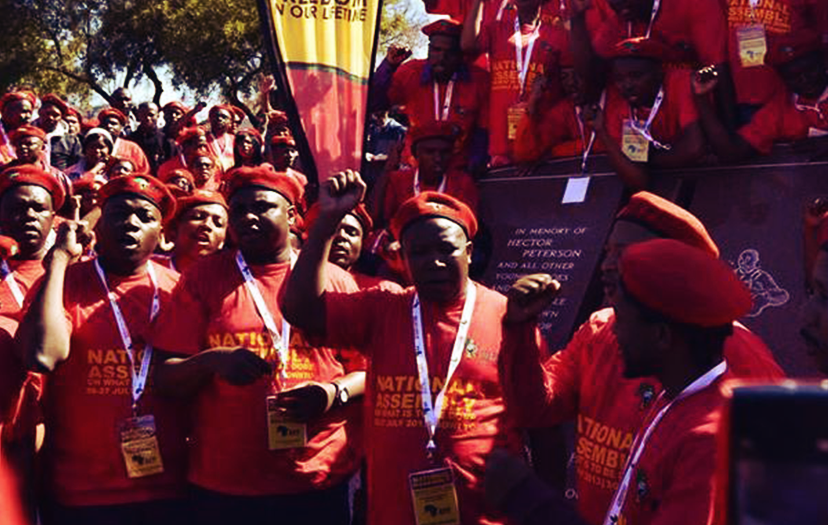 """""""Defenders of the EFF Constitution"""" wants Malema to go"""