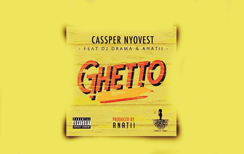 Casssper Nyovest Debuts Single : Ghetto ft Anatii & Dj Drama
