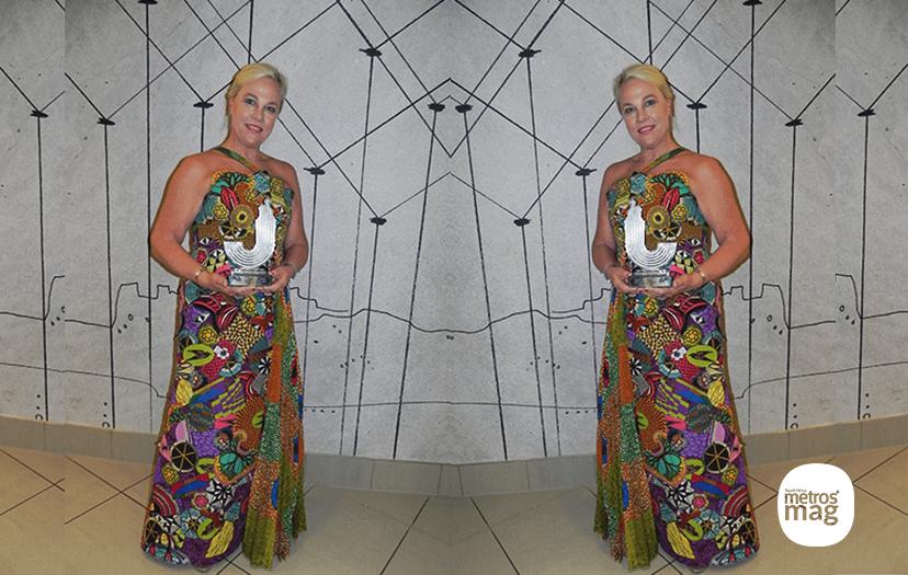 Founder of Clover Mama Afrika, awarded at North West University Awards