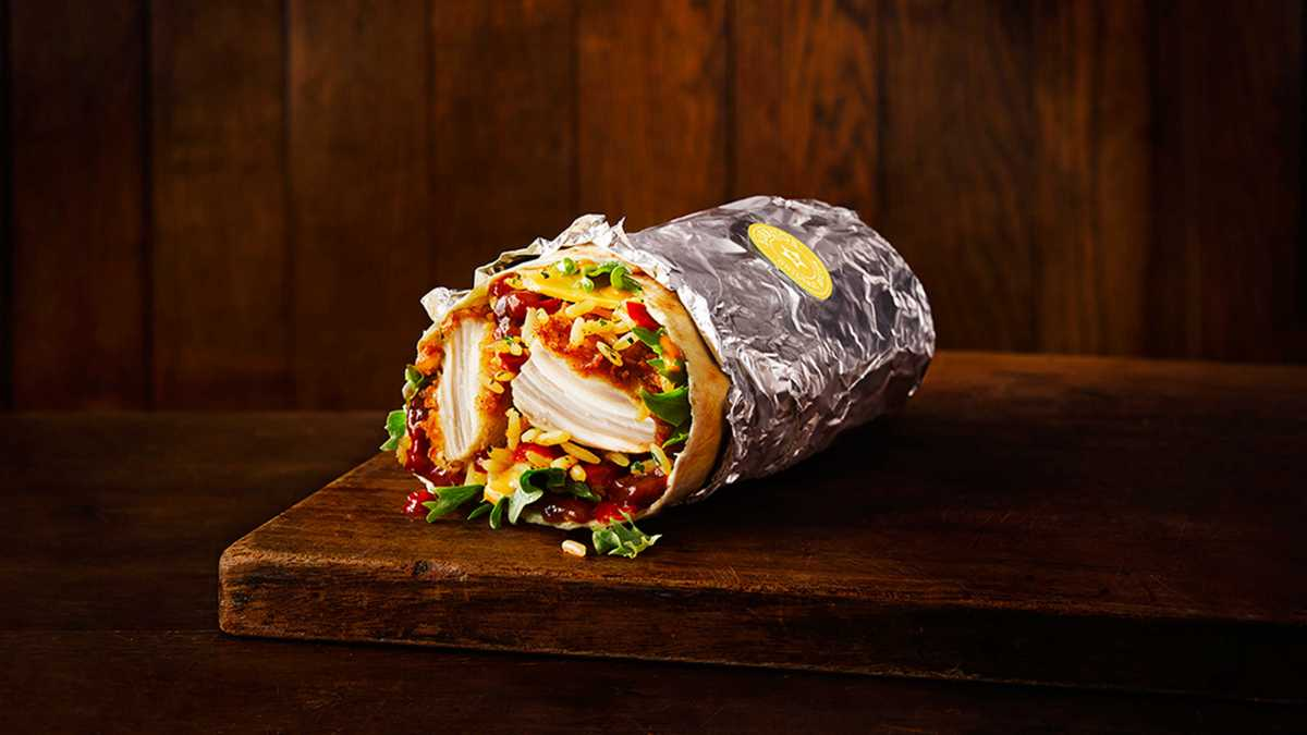 A mexican taste with the KFC Burrito