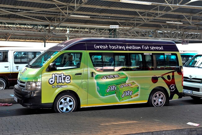 Taxi advertisers are 'owning the road'